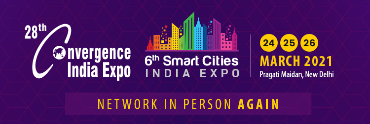 Industry Leaders and City Administrators to discuss Progress & Roadmap at 6th Smart Cities India &  28th Convergence India 2021 expo