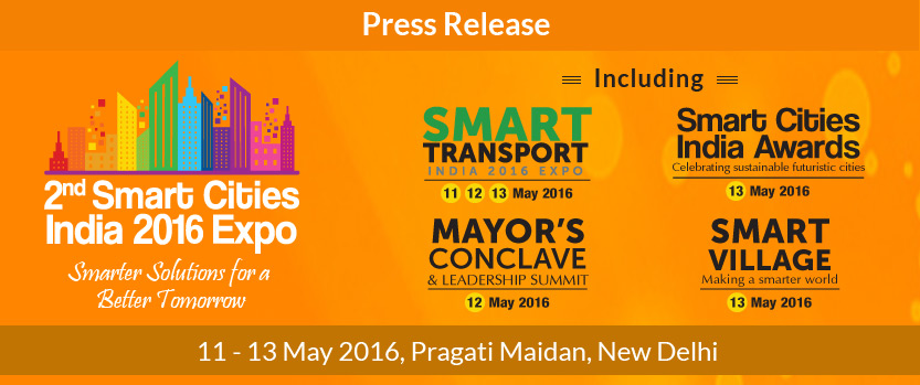 2016 Smart Cities India Awards to honor best practices & models in the smart cities concept