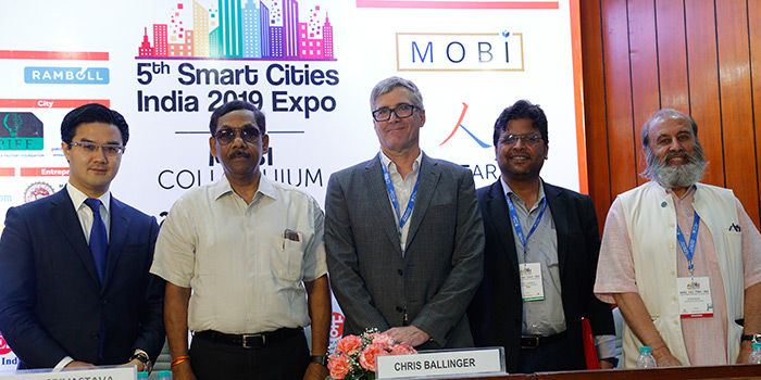 Interesting Technologies take Centre-stage at the 5th Smart Cities India 2019 expo being held from 22 -24 May in Pragati Maidan, New Delhi